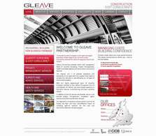 Gleave Partnership - website copywriting project