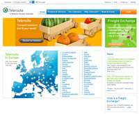 Website copywriting for Belgium-based Teleroute, a leading European logistics company