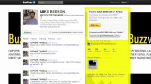 Image of Twitter page