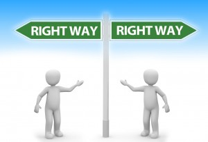 RIGHT WAY - communication-1082656_1280