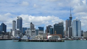 Aukland city view
